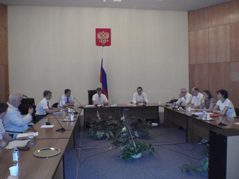 Президиум Профсоюза принял участие в совещании Росреестра