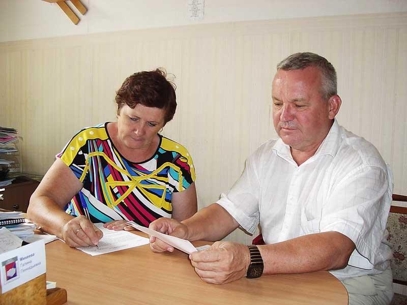 Пописание соглашения - Михеева Г.Г. и Чикиров С.А.