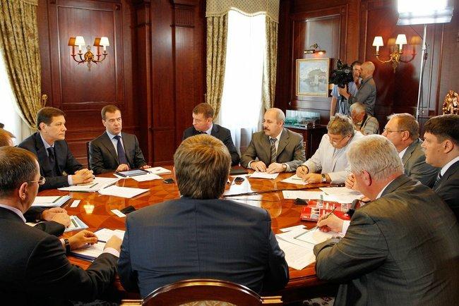 Встреча с руководителями профсоюзных организаций
