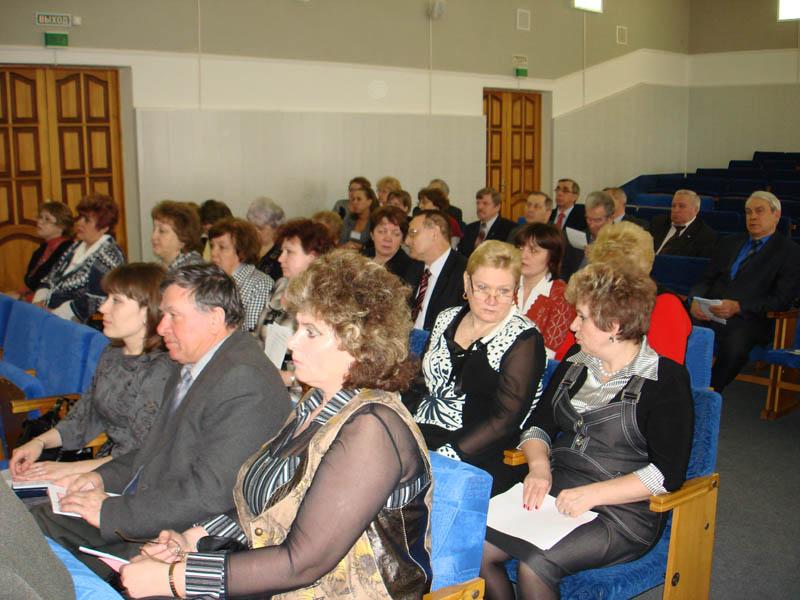 IV заседание совета областного объединения организаций профсоюзов