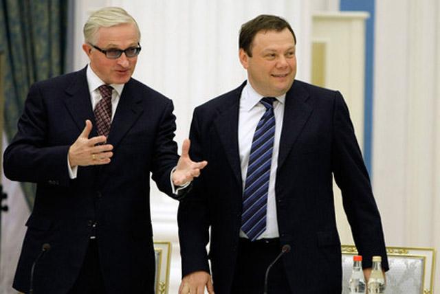 Михаил Фридман и Александр Шохин
